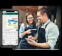 Orderbird gra pro shift planning header