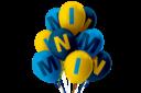 Mini balloons 3x