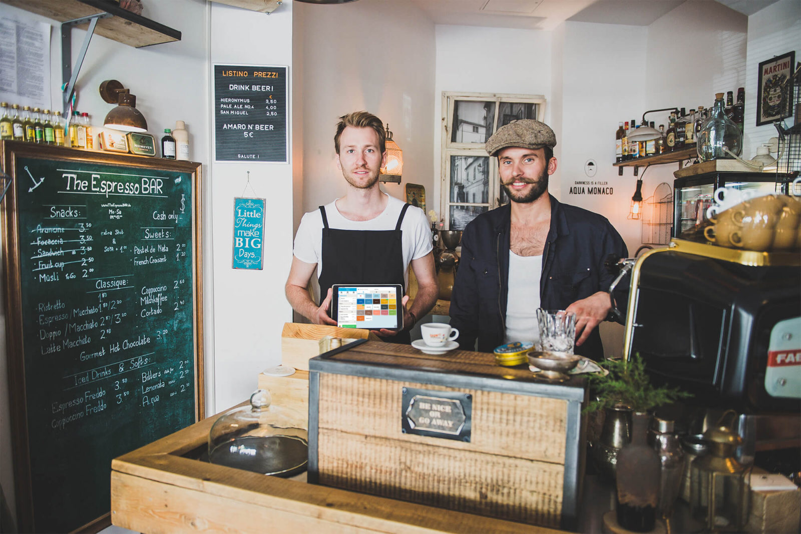 Orderbird the espresso bar online