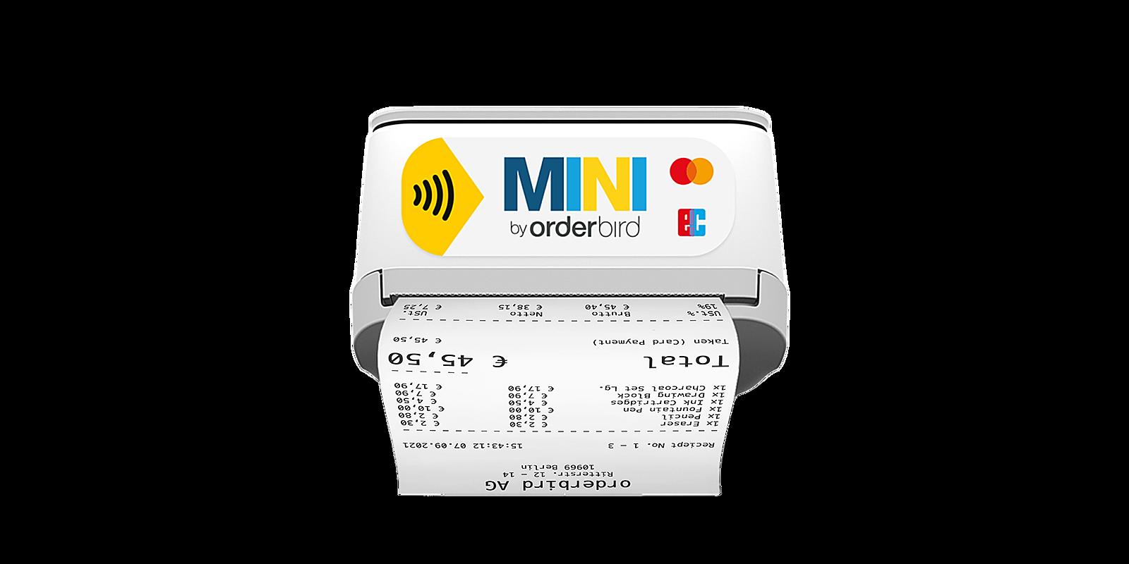 Orderbird img produkt mini bondruck thumbnail EN