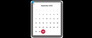 Kalender TSE September pin