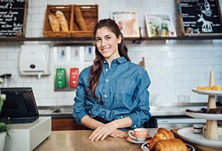 Orderbird Café Betreiberin