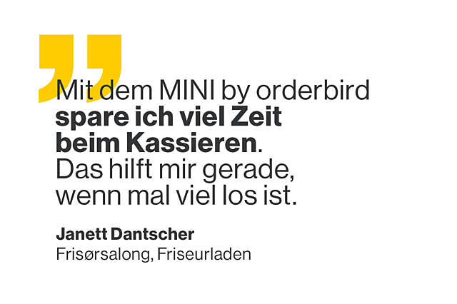 Orderbird txt mini janette dantscher quote 004