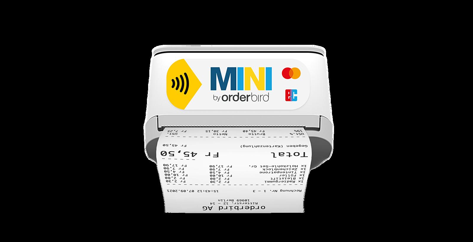 Orderbird img produkt mini bondruck thumbnail CH