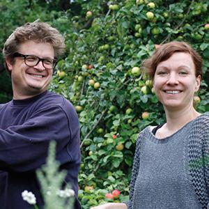 Christian Heymann und Antje Matthes