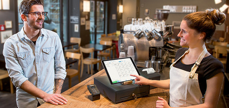 Accept card payment with the iPad POS system