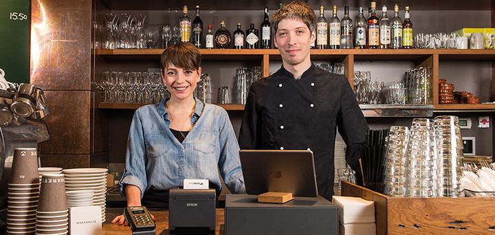 La caisse enregistreuse sur iPad pour restaurants et cafés