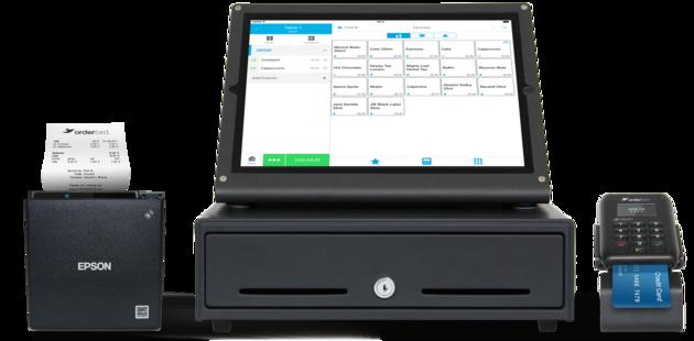 orderbird iPad POS, Bondrucker, Kassenschublade und Kartenleser