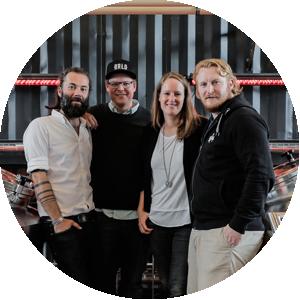 Christian Laase, Ben Pommer, Katharina Kurz & Michael Lembke