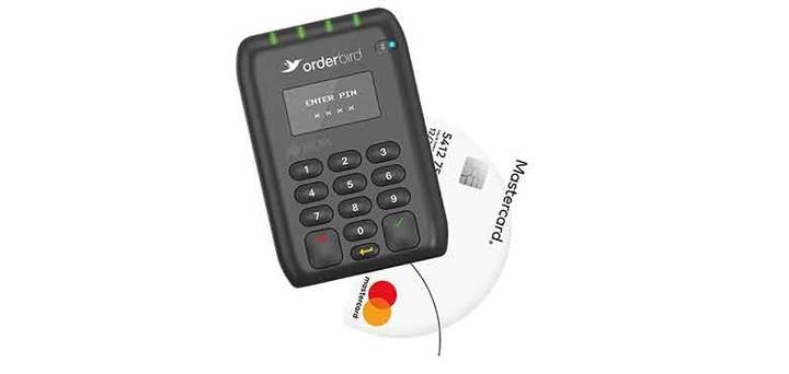 Bargeldlose Zahlungen annehmen mit mobilen Kartenleser
