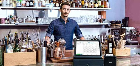 iPad-Kassensystem in Bar