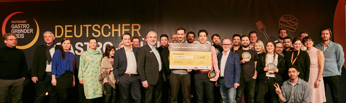 Gastro-Gründerpreis Gewinner-Gruppenfoto