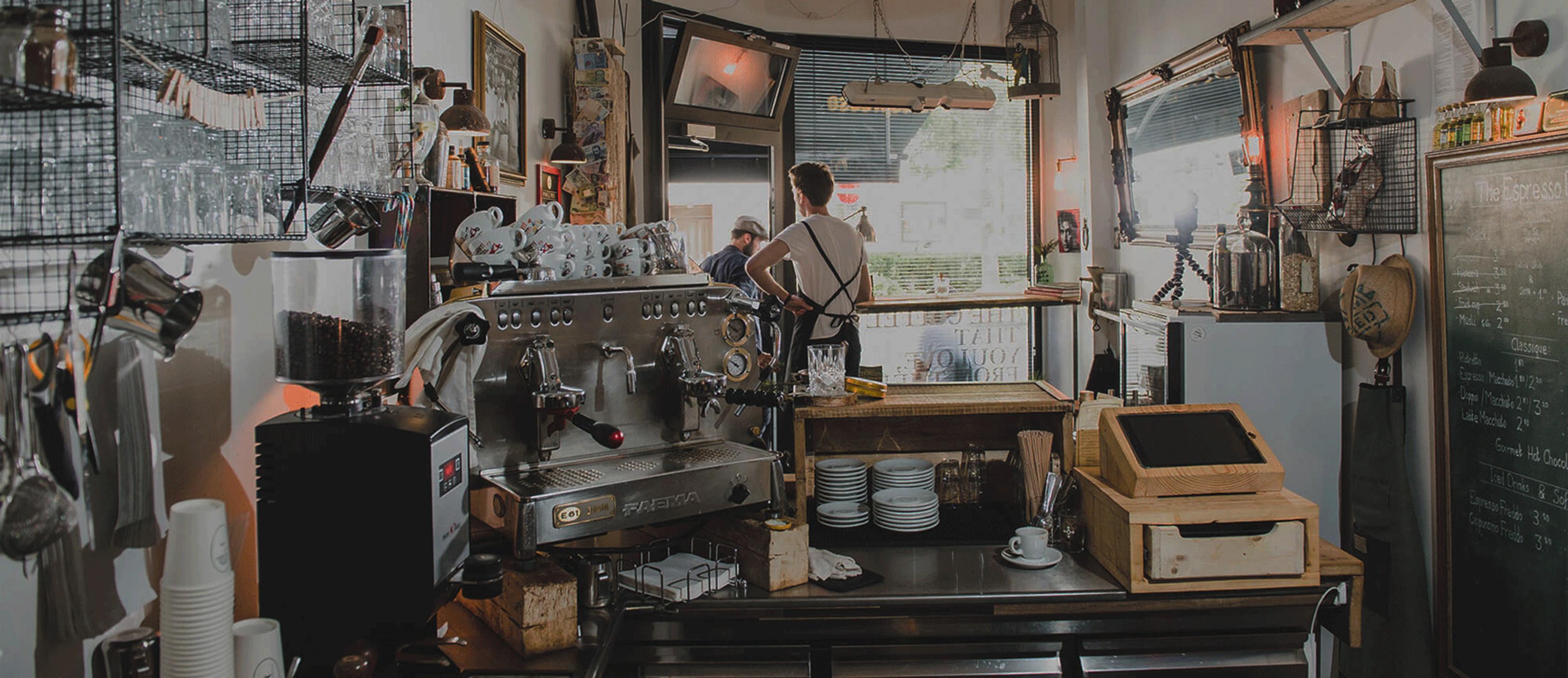 Espresso Bar Frankfurt Kaffeemaschine