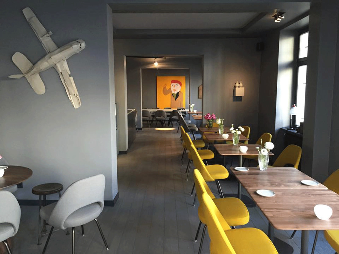 orderbird Kunde Restaurant Gustav Frankfurt am Main Innenansicht