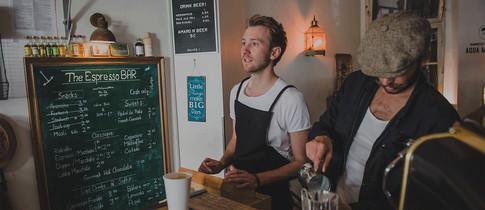 Espresso Bar Gründer und Barista