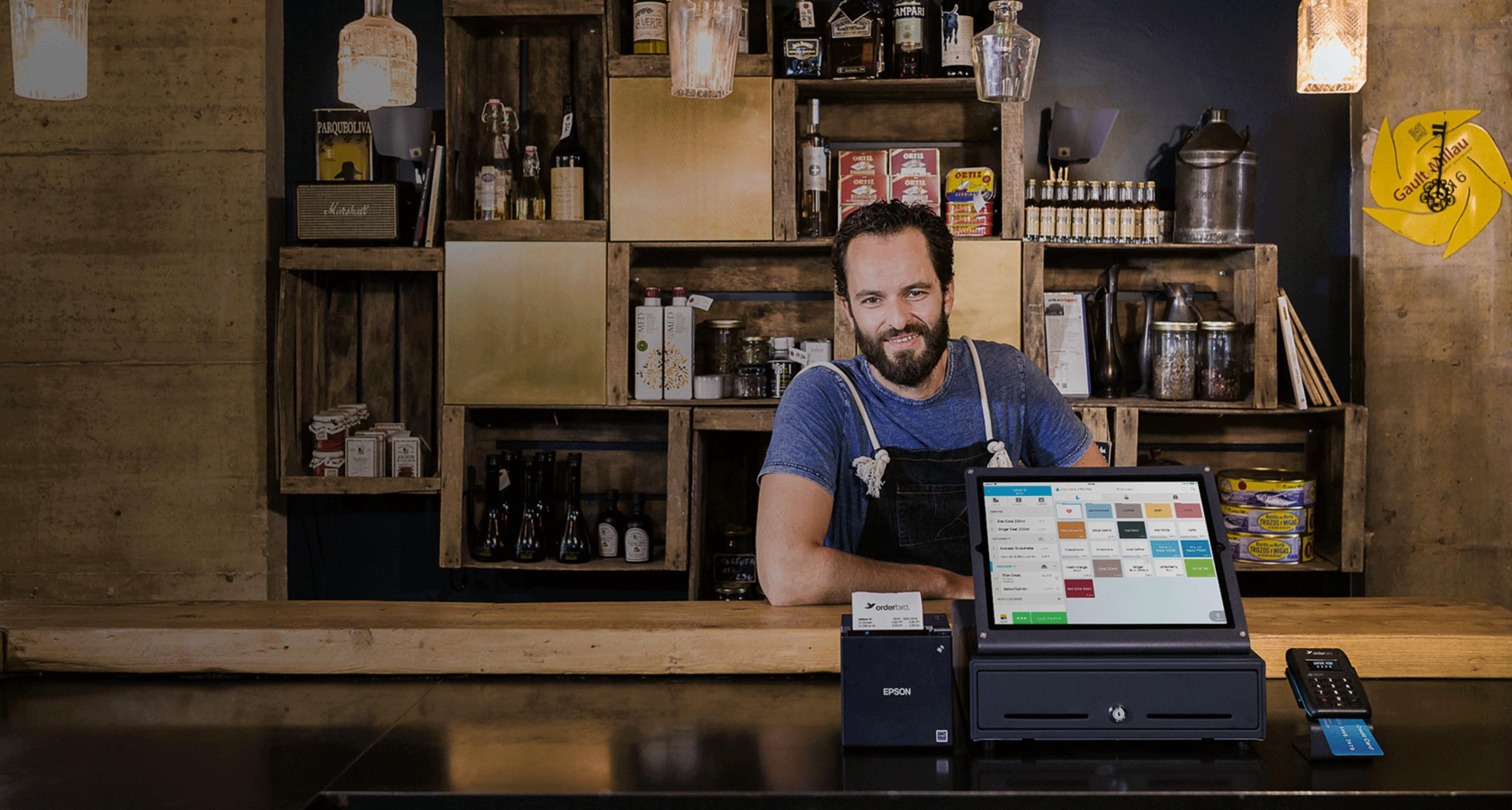 Yoni Sadaar with orderbird iPad POS