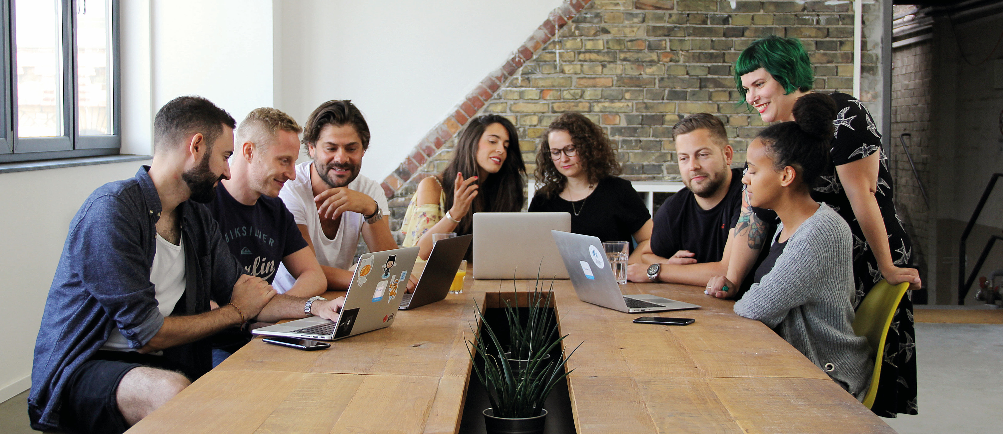 Das orderbird Team im Office in Berlin