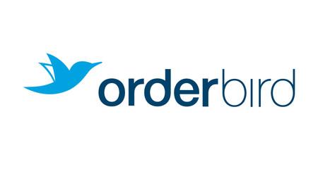 orderbird Logo Vollfarb auf Weiß