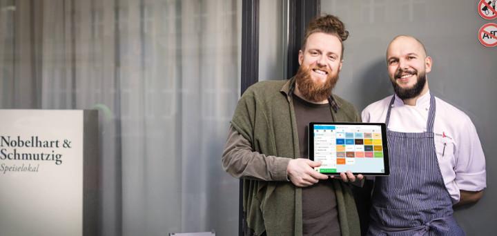 Nobelhart & Schmutzig mit iPad-Kasse
