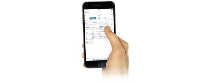 Take orders directly at the table with wireless orderirg from orderbird